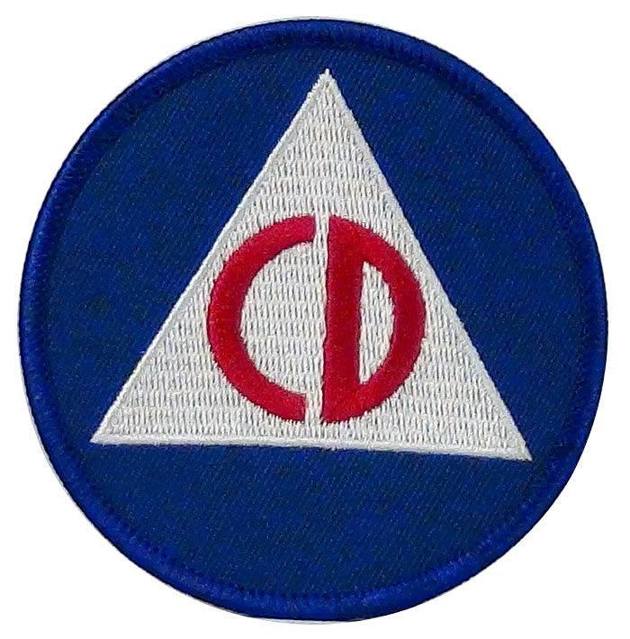 Civil Defense Patch