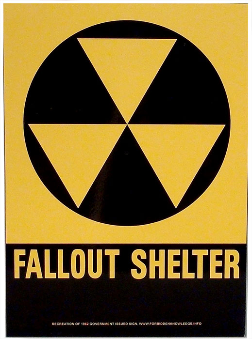 Fallout Shelter Reproduction Sign