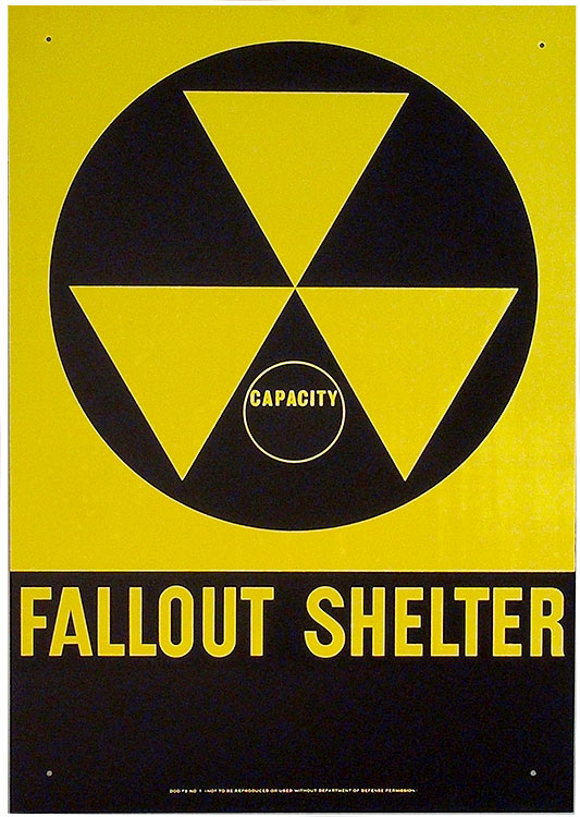 Fallout Shelter Original 1962 Sign