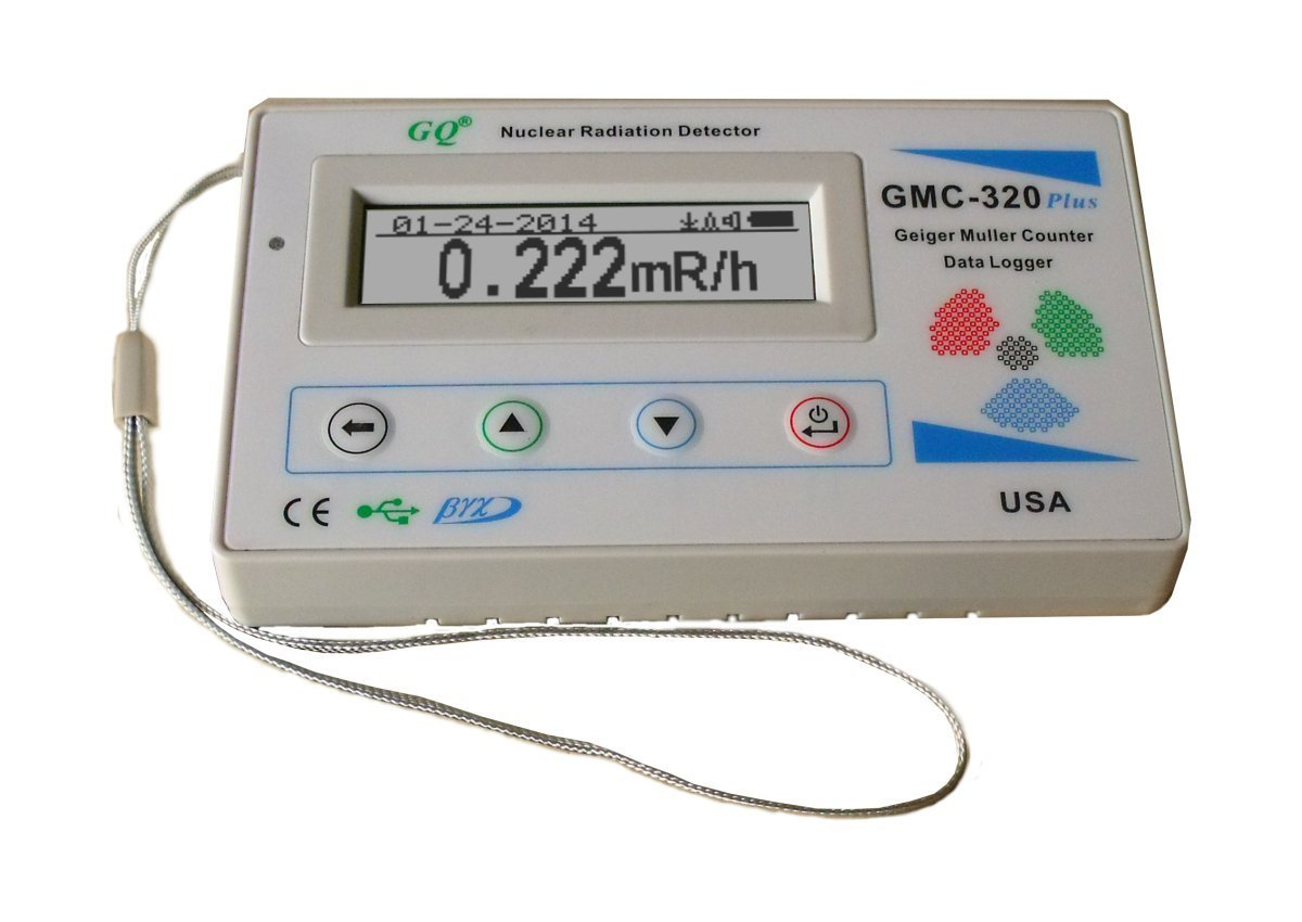 GQ GMC-320 plus V4 Geiger Counter