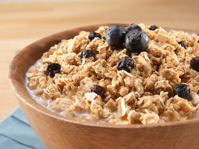 Granola with Milk and Blueberries - Pouch
