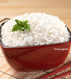 Instant White Rice - #10 can
