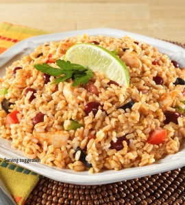 Mexican Style Rice & Chicken - #10 can