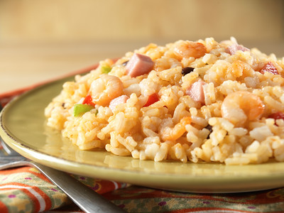 New Orleans Style Rice with Shrimp & Ham - Pouch