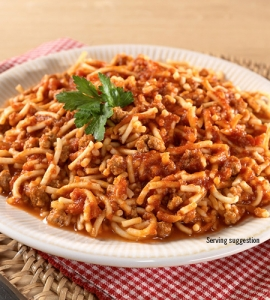 Spaghetti with Meat Sauce - #10 can