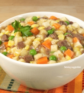 Vegetable Stew with Beef - #10 can