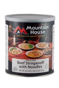 Beef Stroganoff with Noodles - #10 can
