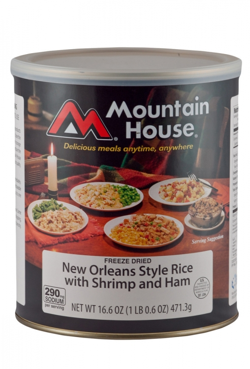 New Orleans Style Rice with Shrimp & Ham - #10 Can